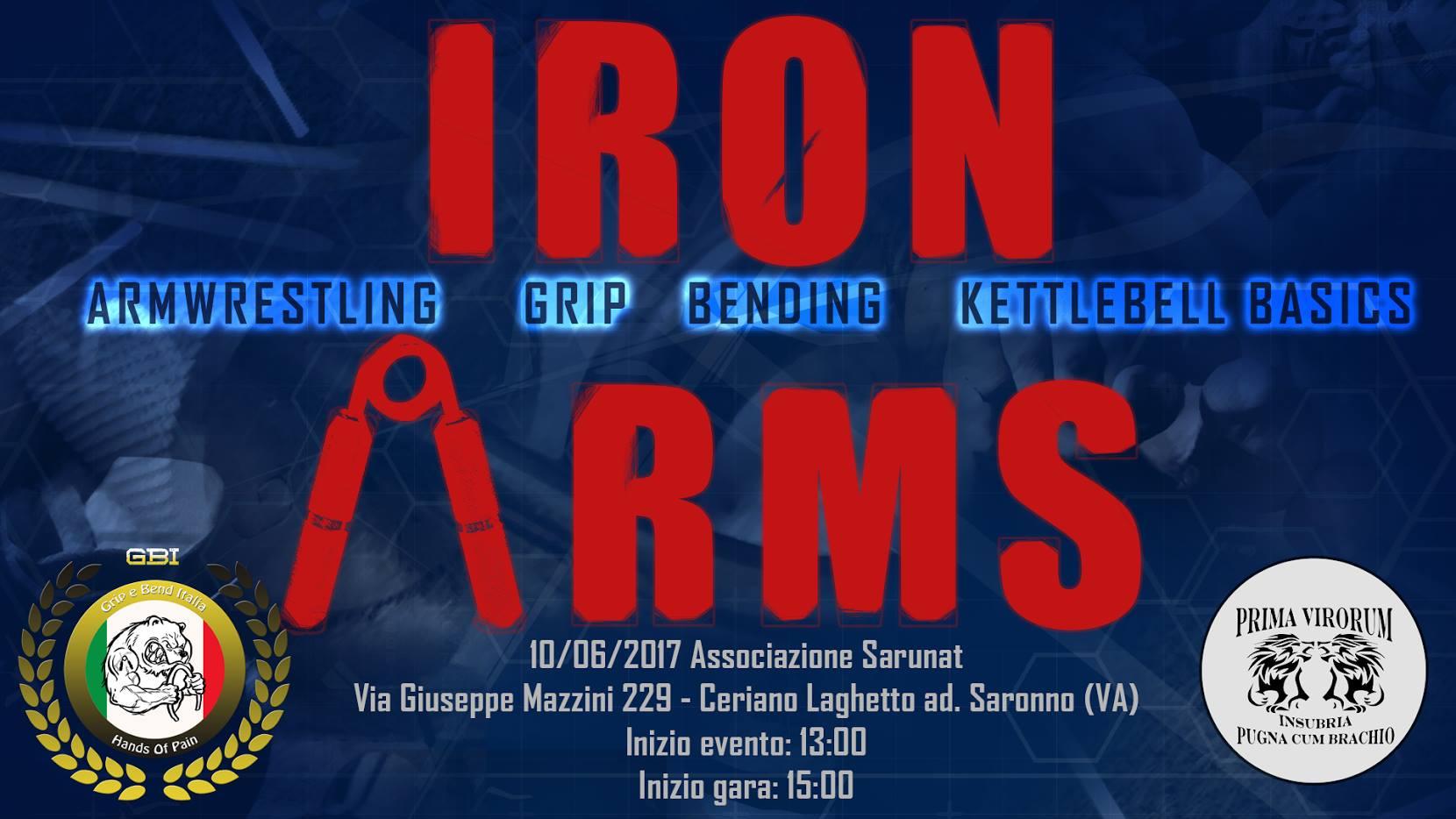 Trofeo IRON ARMS