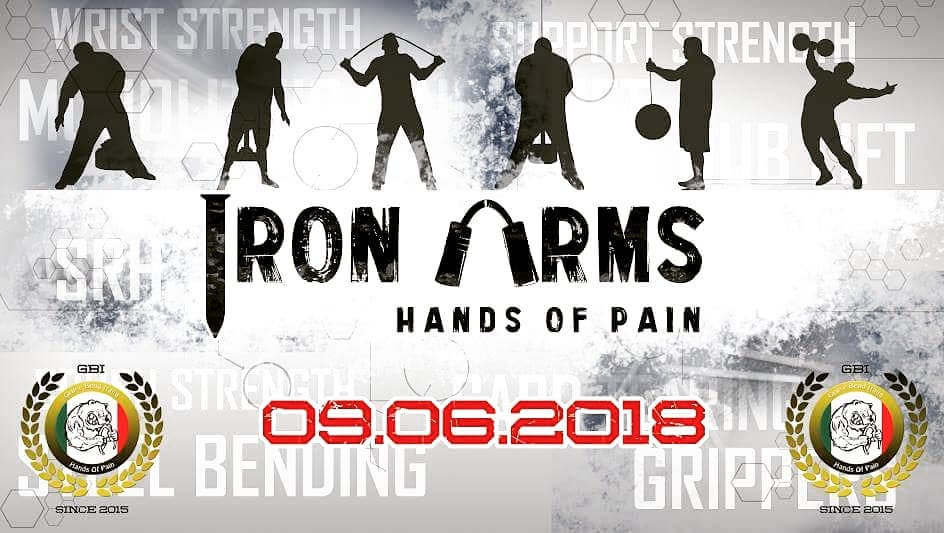 GRIP CONTEST  IRON ARMS 2018