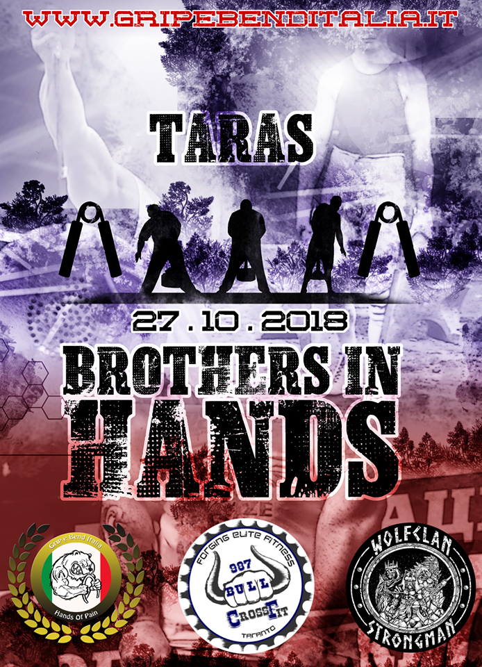 TARAS Brothers in Hands 2018