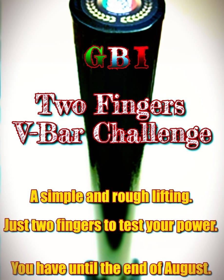 Two Fingers V-Bar Challange