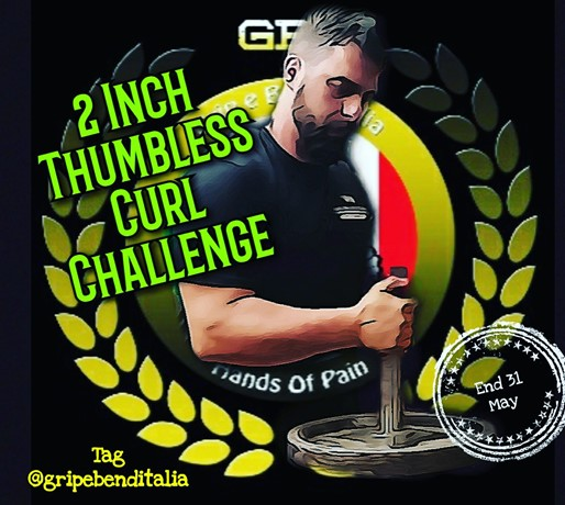 2 Inch Thumbless Curl Challenge