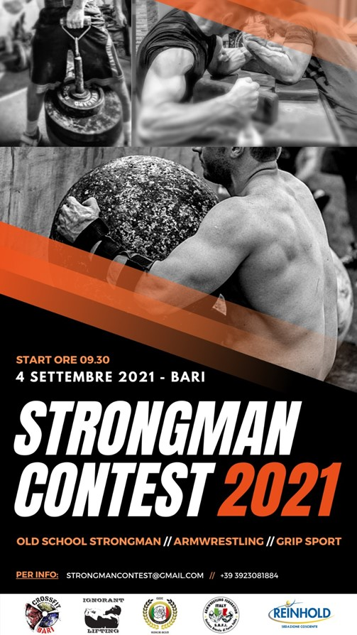 Grip Medley – Strongman Contest 2021